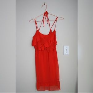 NWOT American Eagle Outfitters Ruffle Dress: Small